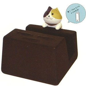DECOLEおじゃまスマホスタンド 三毛猫|rest-8663