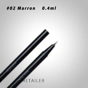 ♪#02  ADDICTION アディクション  リキッドアイブロウ #02 Marron(マロン)...