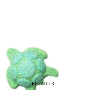 ♪ 約140g LUSH ラッシュ タートルジェリーボム Turtle<バスボム><浴用化粧品><入...
