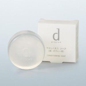 資生堂 dプログラム コンディショニングソープ 100g 洗顔料|retailer-plus