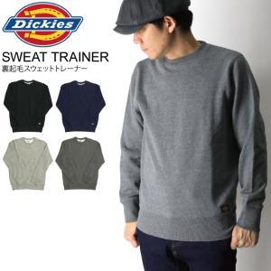 (ディッキーズ) Dickies 裏起毛 スウェット トレーナー スウェットシャツ メンズ レディース retom