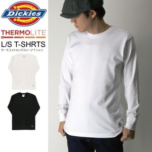 (ディッキーズ) Dickies サーモライト ロングスリーブ Tシャツ カットソー メンズ レディース retom