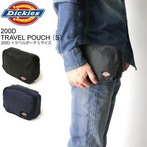 (ディッキーズ) Dickies 200D トラベル ポーチ Sサイズ 旅行用ポーチ メンズ レディース retom