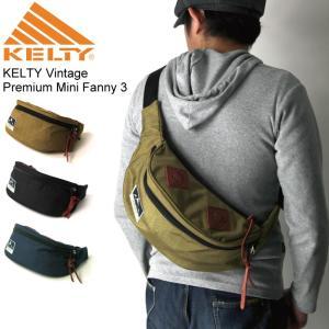 (ケルティ) KELTY プレミアム ミニファニー 3 ボディバッグ ウエストバッグ|retom