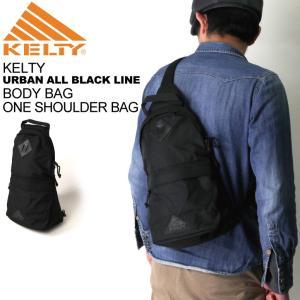 (ケルティ) KELTY ボディバッグ ワン ショルダーバッグ【アーバン オール ブラック ライン】|retom