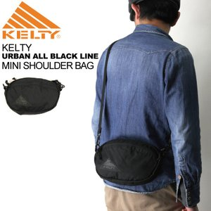 (ケルティ) KELTY ミニ ショルダーバッグ【アーバン オール ブラック ライン】|retom