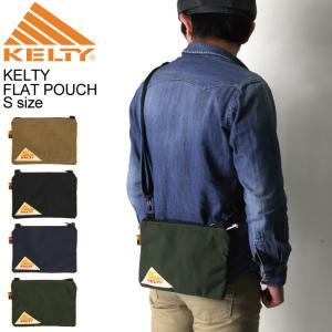 (ケルティ) KELTY ヴィンテージ ライン フラットポーチ Sサイズ ショルダーバッグ サコッシュバッグ|retom