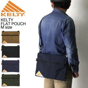 (ケルティ) KELTY ヴィンテージ ライン フラットポーチ Mサイズ ショルダーバッグ サコッシュバッグ|retom