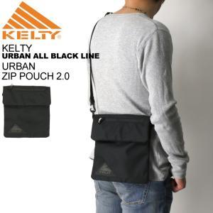 (ケルティ) KELTY アーバン シリーズ ジップ ポーチ 2.0 サコッシュ ミニ ショルダーバッグ 3L メンズ レディース|retom