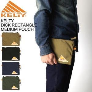 (ケルティ) KELTY ディック レクタングル ミディアム ポーチ 小物入れ 化粧ポーチ メンズ レディース retom
