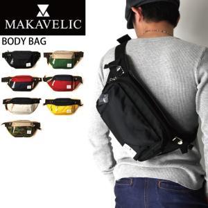 (マキャベリック) MAKAVELIC ボディバッグ ウエストバッグ ショルダーバッグ|retom
