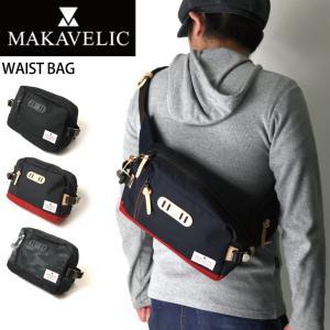 (マキャベリック) MAKAVELIC WAIST BAG ボディバッグ ウエストバッグ|retom