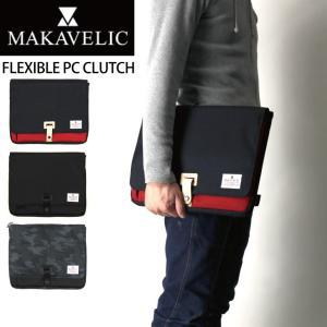 (マキャベリック) MAKAVELIC フレキシブル PC クラッチ クラッチバッグ PCバッグ タブレット バッグ|retom