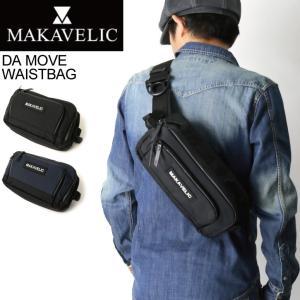 (マキャベリック) MAKAVELIC TRUCKS DA MOVE WASTBAG トラックス ダムーブ ウエストバッグ ボディバッグ メンズ レディース|retom