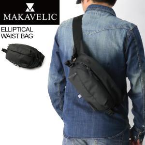 (マキャベリック) MAKAVELIC エリプティカル ウエストバッグ ボディバッグ ショルダーバッグ メンズ レディース|retom