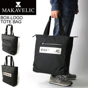 (マキャベリック) MAKAVELIC LUDUS BOX-LOGO TOTE BAG ルーダス ボックス ロゴ トートバッグ メンズ レディース|retom