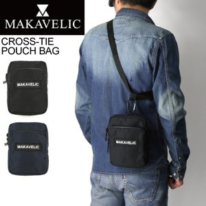 (マキャベリック) MAKAVELIC TRUCKS CROSS-TIE POUCH BAG トラックス クロスタイ ポーチバッグ ボディバッグ メンズ|retom