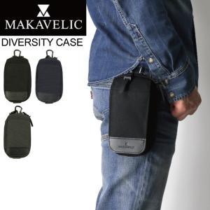 (マキャベリック) MAKAVELIC CHASE DIVERSITY CASE チェス ディバー シティ ケース ウエストポーチ 携帯ケース メンズ|retom