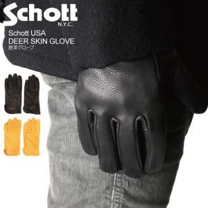 (ショット) Schott ディアー スキン グローブ|retom