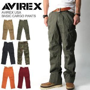 (アビレックス) AVIREX ベーシックカーゴパンツ メンズ|retom