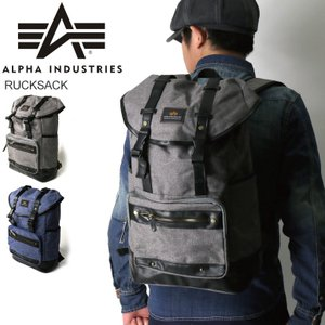 (アルファ) ALPHA アルファ インダストリーズ リュックサック デイパック バックパック ショルダー バッグ メンズ|retom