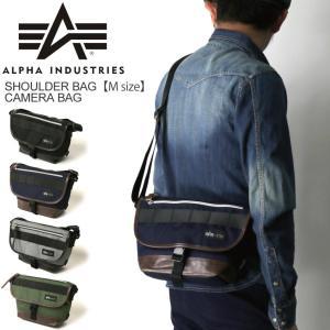 (アルファ) ALPHA アルファ インダストリーズ ショルダーバッグ Mサイズ カメラバッグ メッセンジャーバッグ メンズ|retom