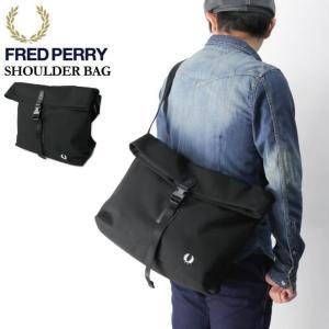 (フレッドペリー) FRED PERRY ショルダーバッグ メッセンジャーバッグ ボディバッグ メンズ レディース|retom
