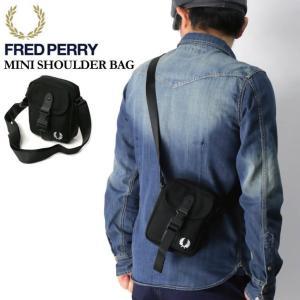 (フレッドペリー) FRED PERRY ミニ ショルダーバッグ ボディバッグ ポーチ メンズ レディース|retom
