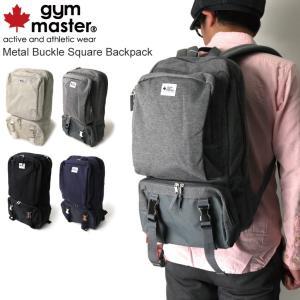 (ジムマスター) gym master メタル バックル スクエアー バックパック|retom