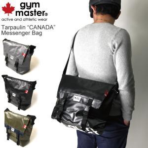 (ジムマスター) gym master ターポリン「カナダ」メッセンジャーバッグ ショルダーバッグ|retom