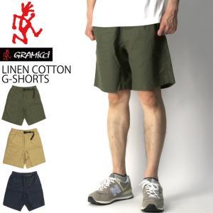 ee6e65312c4760 (グラミチ) GRAMICCI リネン コットン G-ショーツ ショートパンツ 短パン 麻パンツ リゾート パンツ メンズ レディース