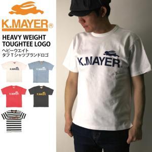 20%OFF!! (クリフメイヤー) KRIFF MAYER ヘビーウエイト ロゴ タフ Tシャツ カットソー|retom