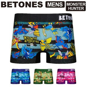 (ビトーンズ) BETONES MONSTER HUNTER (モンスターハンター) メンズ ボクサ...