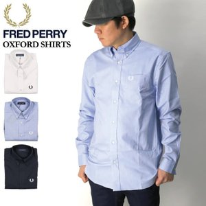 (フレッドペリー) FRED PERRY オックスフォード シャツ ボタンダウンシャツ ワイシャツ Yシャツ メンズ レディース|retom