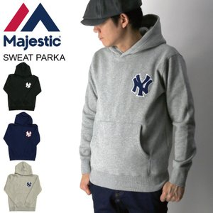 (マジェスティック) Majestic ヤンキース スウェット パーカー プルオーバー パーカー 裏起毛 メンズ レディース retom