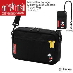 (マンハッタンポーテージ) Manhattan Portage ミッキーマウス コレクション ミニ ショルダーバッグ ジョガーバッグ メンズ レディース|retom