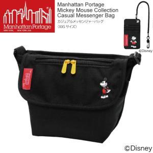 (マンハッタンポーテージ) Manhattan Portage ミッキーマウス コレクション メッセンジャーバッグ ショルダーバッグ XXSサイズ メンズ レディース|retom