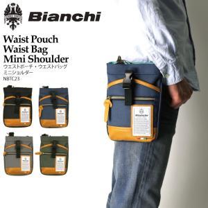 (ビアンキ) Bianchi ウエストポーチ ウエストバッグ ミニショルダー メンズ レディース|retom