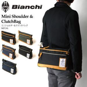 (ビアンキ) Bianchi ミニショルダー クラッチバッグ ショルダーバッグ ボディバッグ メンズ レディース|retom