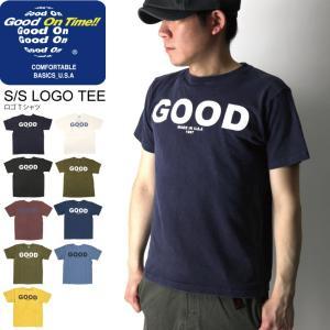(グッドオン) Good On ショートスリーブ ロゴ Tシャツ カットソー メンズ レディース|retom