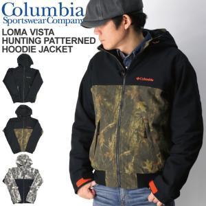 (コロンビア) Columbia ロマビスタ ハンティングパターン フード ジャケット 裏フリース メンズ レディース retom