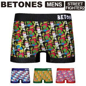 (ビトーンズ) BETONES STREET FIGHTER2 (ストリートファイター) メンズ ボ...