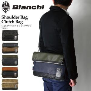 (ビアンキ) Bianchi ショルダーバッグ クラッチバッグ フェイクレザー メンズ レディース|retom