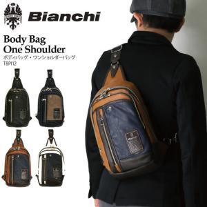 (ビアンキ) Bianchi ボディバッグ ワンショルダーバッグ ショルダーバッグ フェイクレザー メンズ レディース|retom