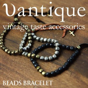 Vantique(ヴァンティーク) ビーズ ブレスレット メンズ レディース 日本製|retom