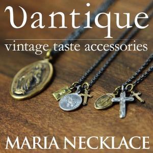 Vantique(ヴァンティーク) ネックレス クロスネックレス メンズ レディース 日本製|retom