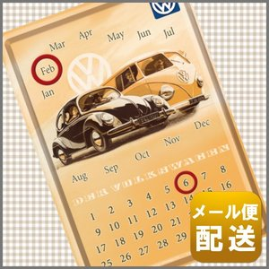 フォルクスワーゲン グッズ 卓上 カレンダー 万年 ワーゲンバス VW