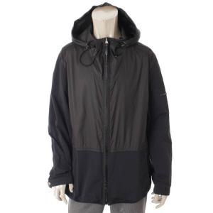 【ルイヴィトン】Louis Vuitton メンズ ナイロン フード付き ジャケット ジャンパー ブラック 56 【中古】【正規品保証】101778 retrojp
