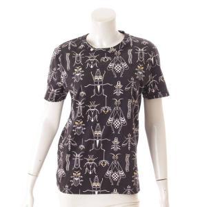 【フェンディ】Fendi スーパーバグズ モンスター Tシャツ カットソー トップス ブラック S 【中古】【正規品保証】114042 retrojp