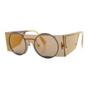 【ヨウジヤマモト】Yohji Yamamoto スクエア サングラス 眼鏡 アイウェア YY7020 ゴールド 【中古】【正規品保証】117081|retrojp